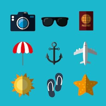 Sommer, ferien und reisen
