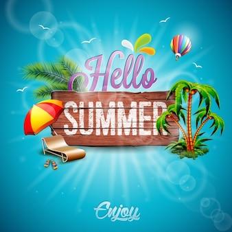 Sommer-hintergrund-design