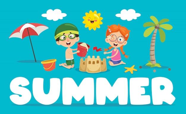 Sommer kinder
