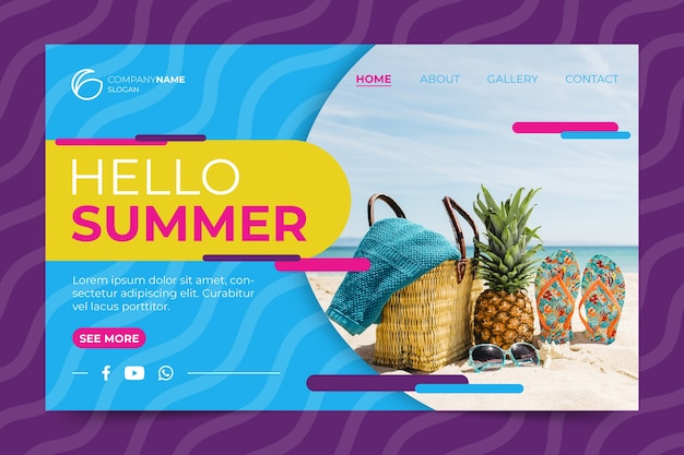 Sommer landing page