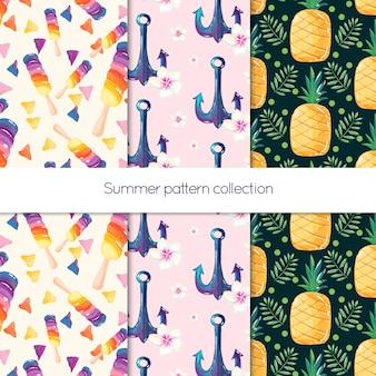 Sommer-muster-kollektion