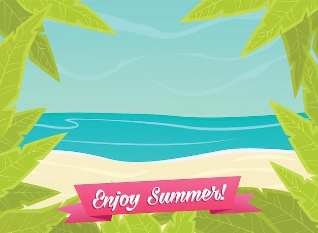 Sommer- oder frühlingszeithintergrund
