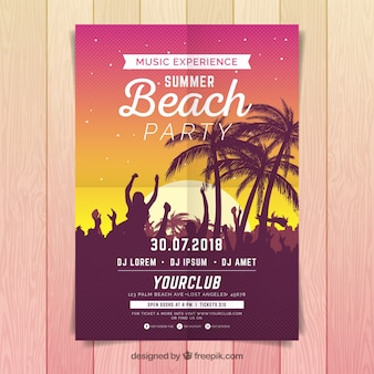 Sommer-party-poster