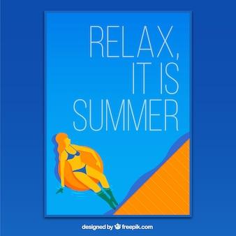 Sommer-plakat