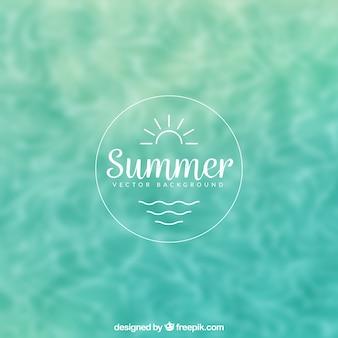 Sommer-pool-hintergrund