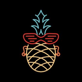 Sommer-punk-ananas