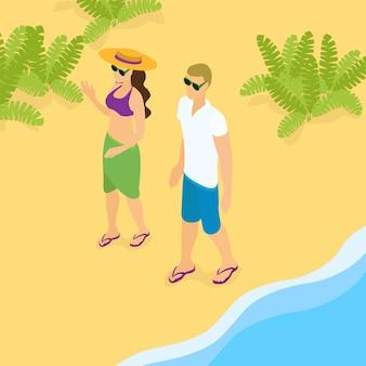 Sommer strandurlaub