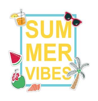 Sommer-t-shirt-design