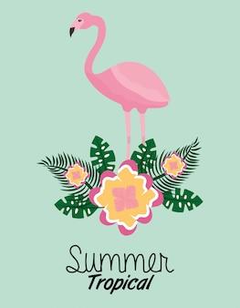 Sommer tropische jahreszeit