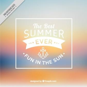 Sommer unscharfen hintergrund