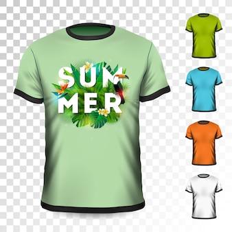 Sommer urlaub t-shirt design