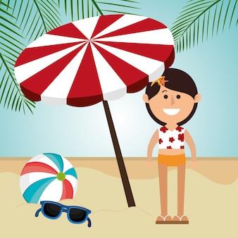 Sommer, urlaub und reisen