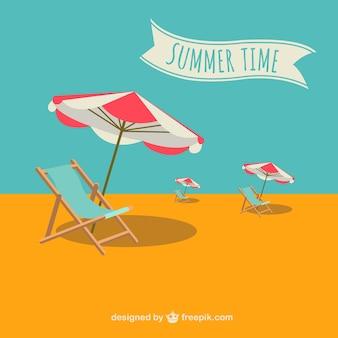 Sommer-vektor-urlaub illustration