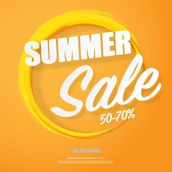 Sommer-verkauf-banner-poster