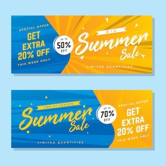 Sommer-verkauf-banner