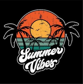 Sommer vibes illustration
