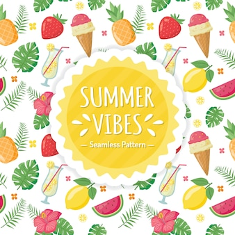 Sommer vibes muster