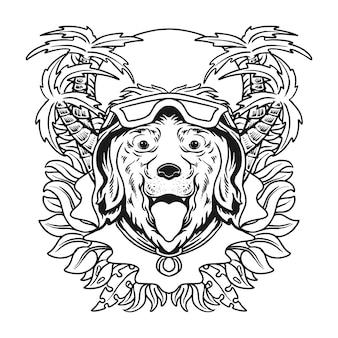 Sommer-vibes-t-shirt-design-vektor-illustration