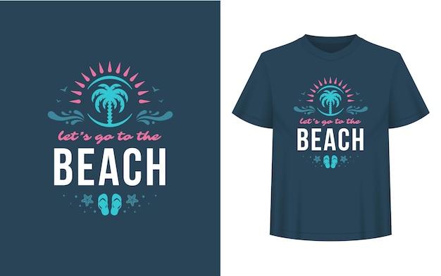 Sommer zitat oder sprichwort kann für t-shirt verwendet werden