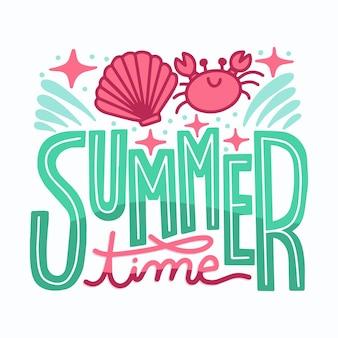 Sommerabzeichen packen