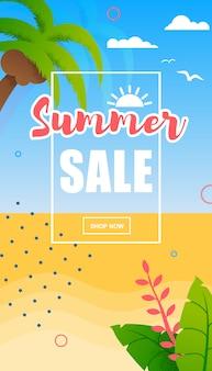Sommerangebot, ferien- oder reiseangebot
