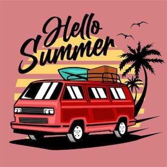 Sommerauto abbildung