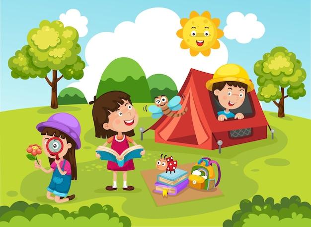 Sommercamp für kinder