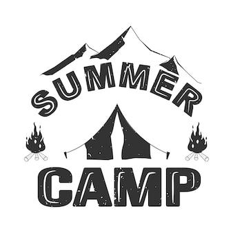 Sommercamp schriftzug