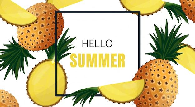 Sommerferien-banner-design.