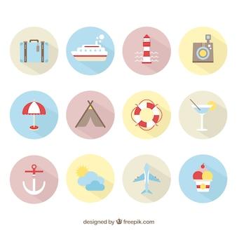 Sommerferien symbole