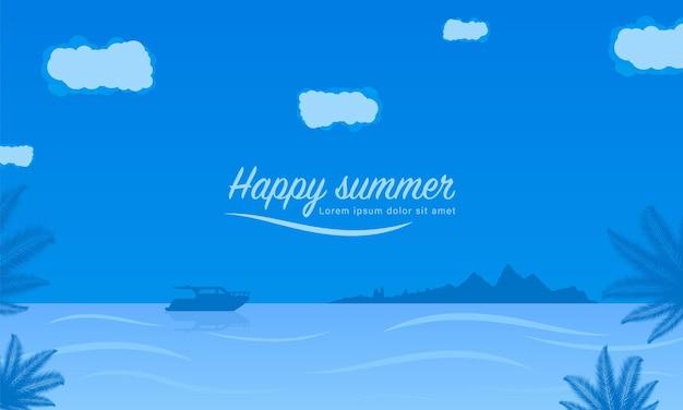 Sommerferien tropisch.