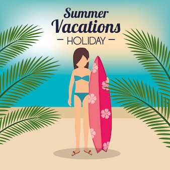 Sommerferien urlaub