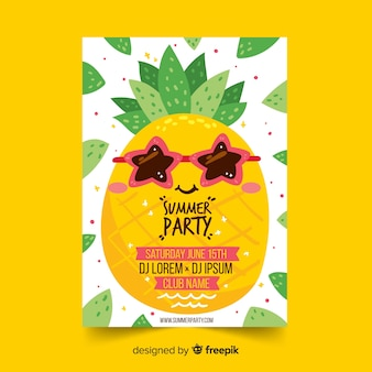 Sommerfest-flyer