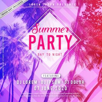 Sommerfest-plakat