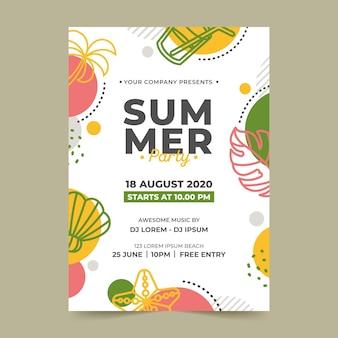 Sommerfest vorlage