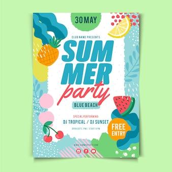 Sommerfestplakat