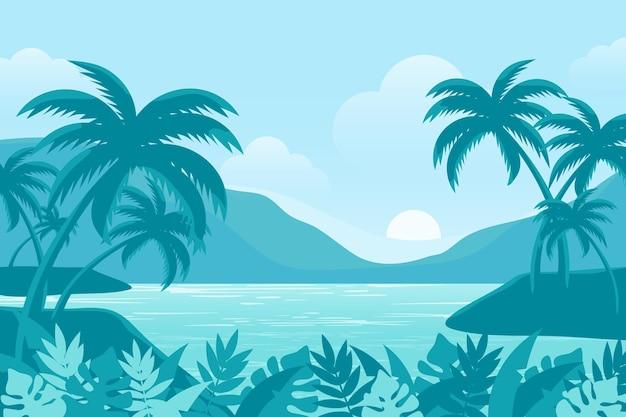 Sommerlandschaft - hintergrund für zoom