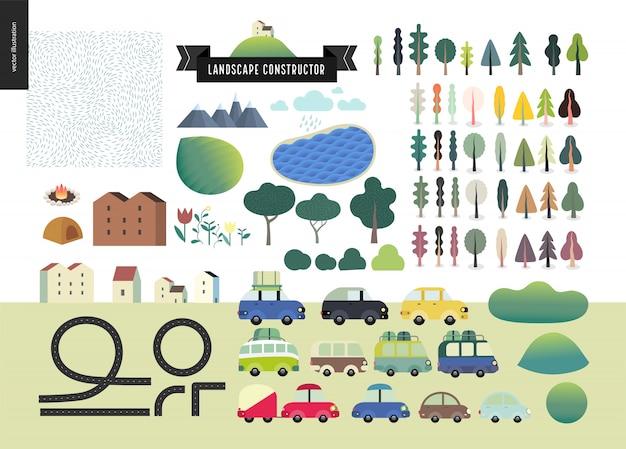 Sommerlandschaftsbauer