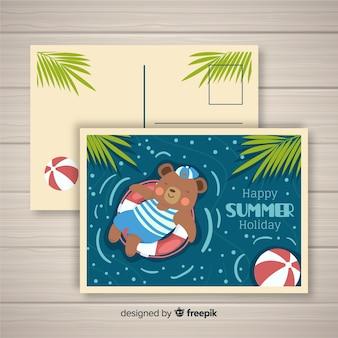 Sommerpostkarte