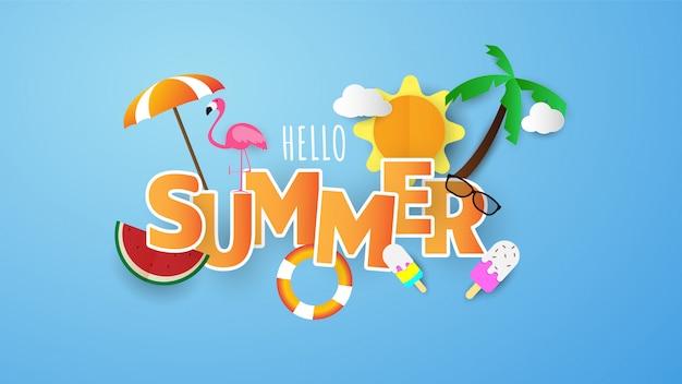 Sommerschlussverkauf banner