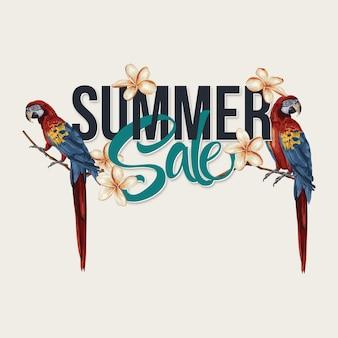 Sommerschlussverkauf layout