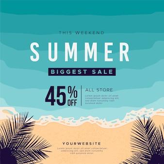 Sommerschlussverkauf mit sonderrabatt