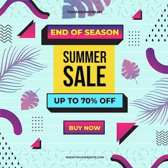 Sommerschlussverkauf zum saisonende