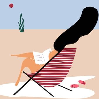 Sommertage am strand