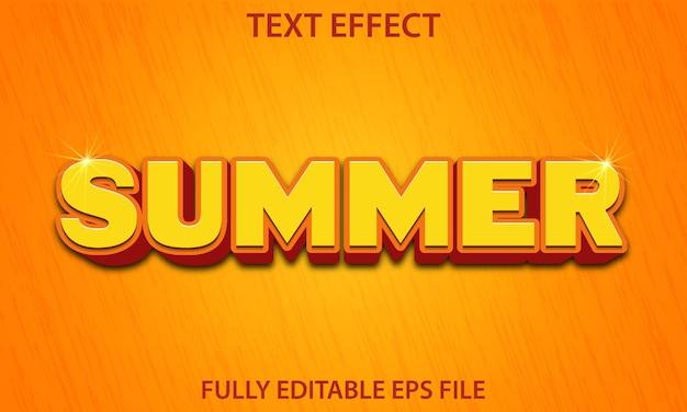 Sommertexteffekt