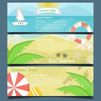 Sommerurlaub banner