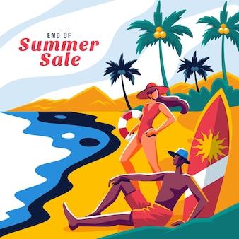 Sommerverkauf zum saisonende