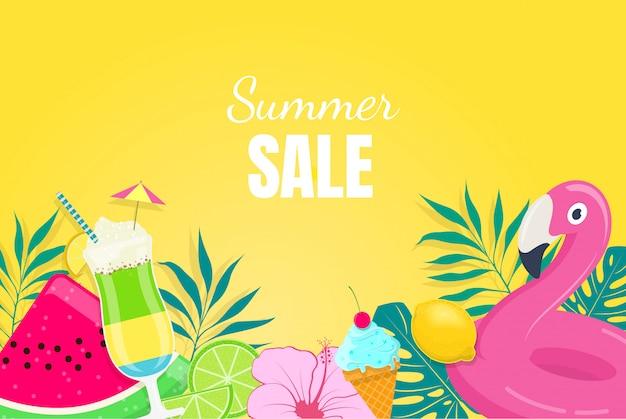 Sommerverkaufsbanner