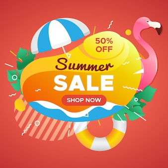Sommerverkaufskampagne