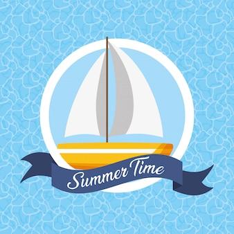 Sommerzeit-abbildung